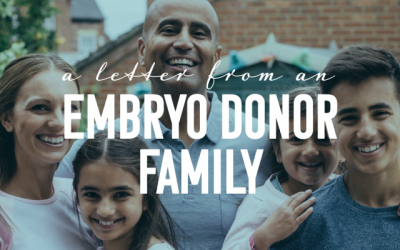 A Letter from an Embryo Donor Family